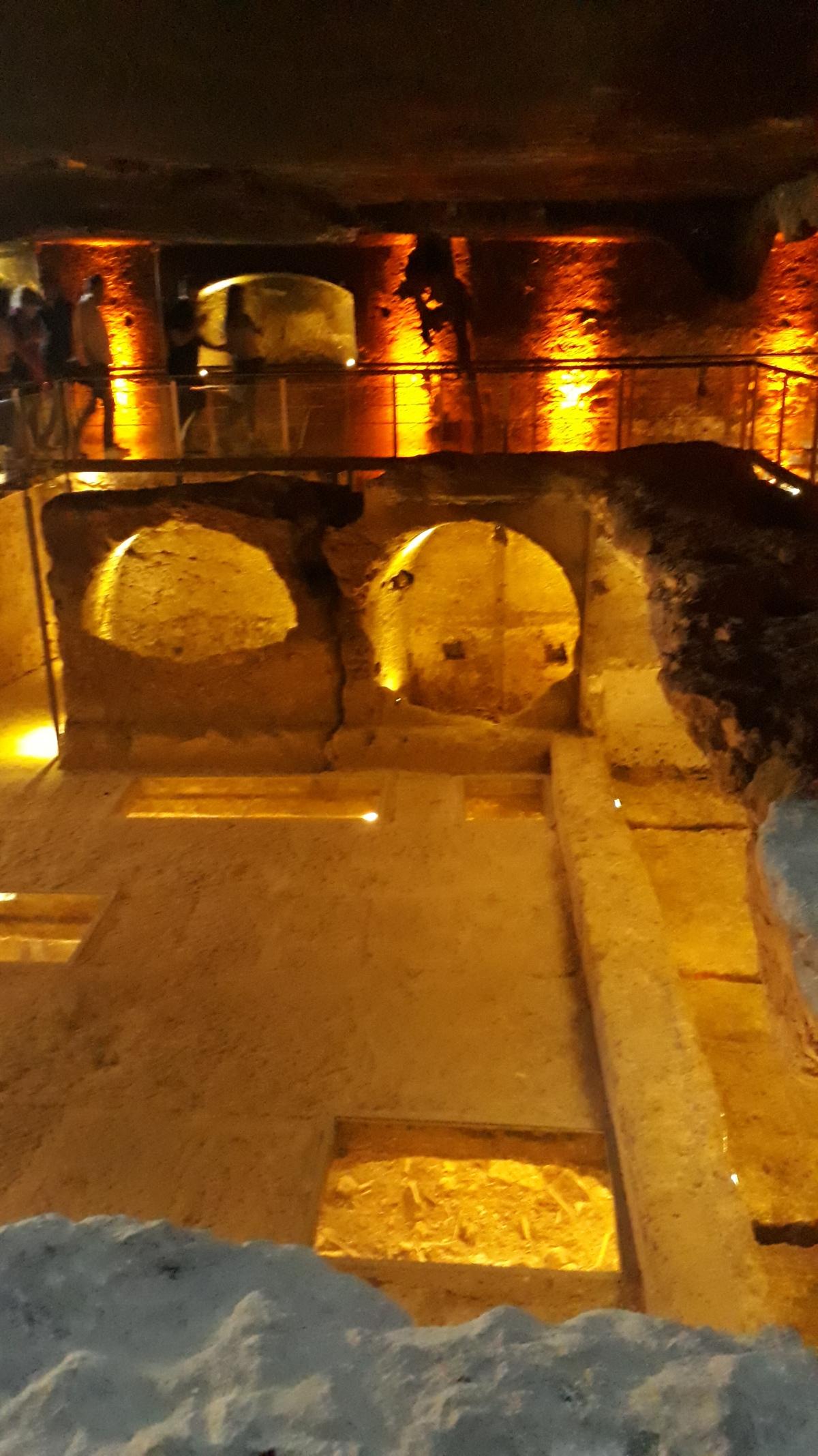 Dara ancient city, gallery cemetery